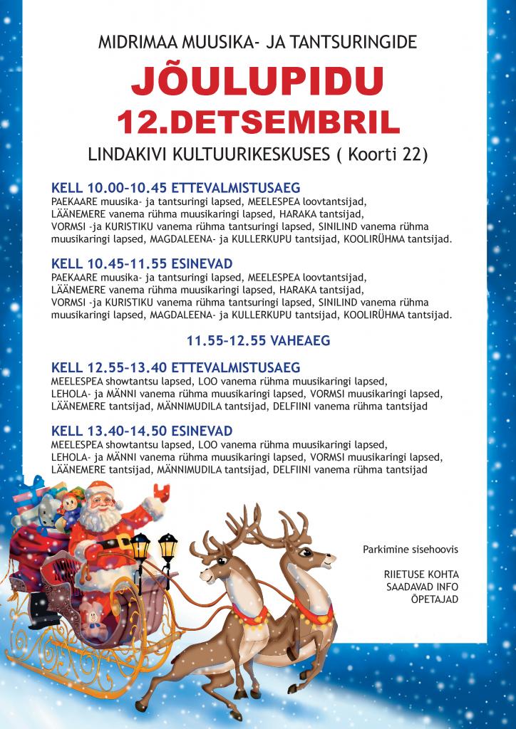 Midrimaa jõulupidu 2015