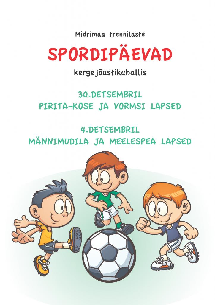 Spordipäevad 2015 detsembris
