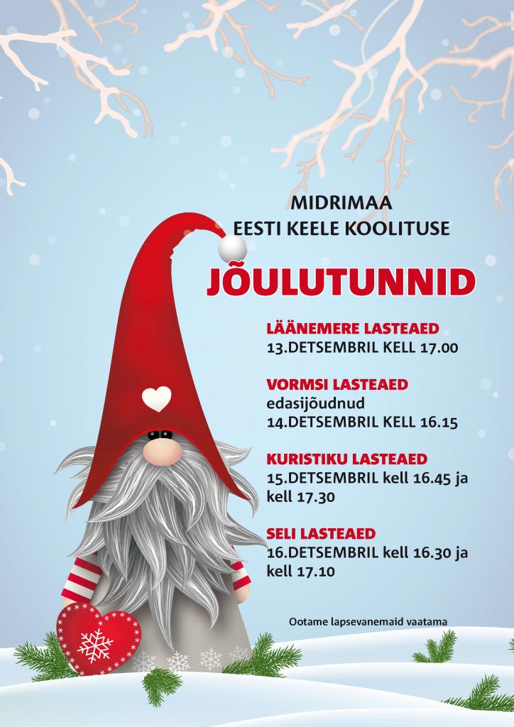 Eesti keele jõulutunnid 2016