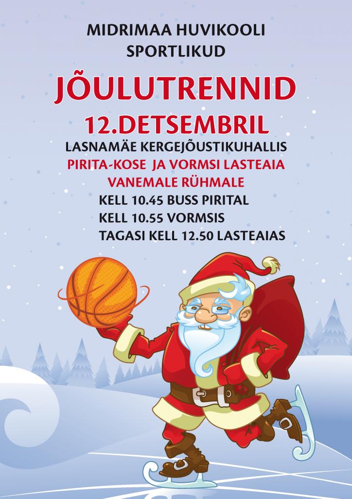 Jõulutrennid 2016