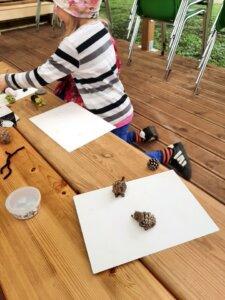Lepistiku laste kunst õues