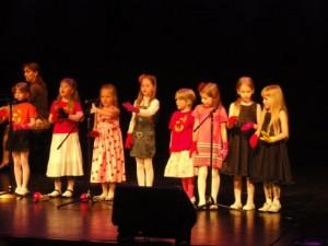 Läänemere Lasteaia muusikaõpilased