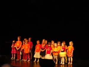 Paekaare Lasteaia muusikaõpilased