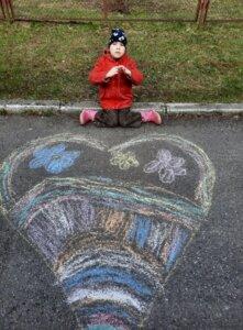 Kunstiringi tunnid õues