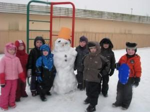 Läänemere treeningrühm lumemehega