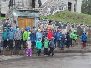 Meelespea lasteaia matk Glehni pargis