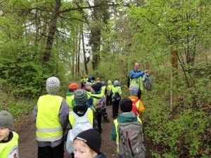 Pirita-Kose trennipoisid orienteerumas 2015